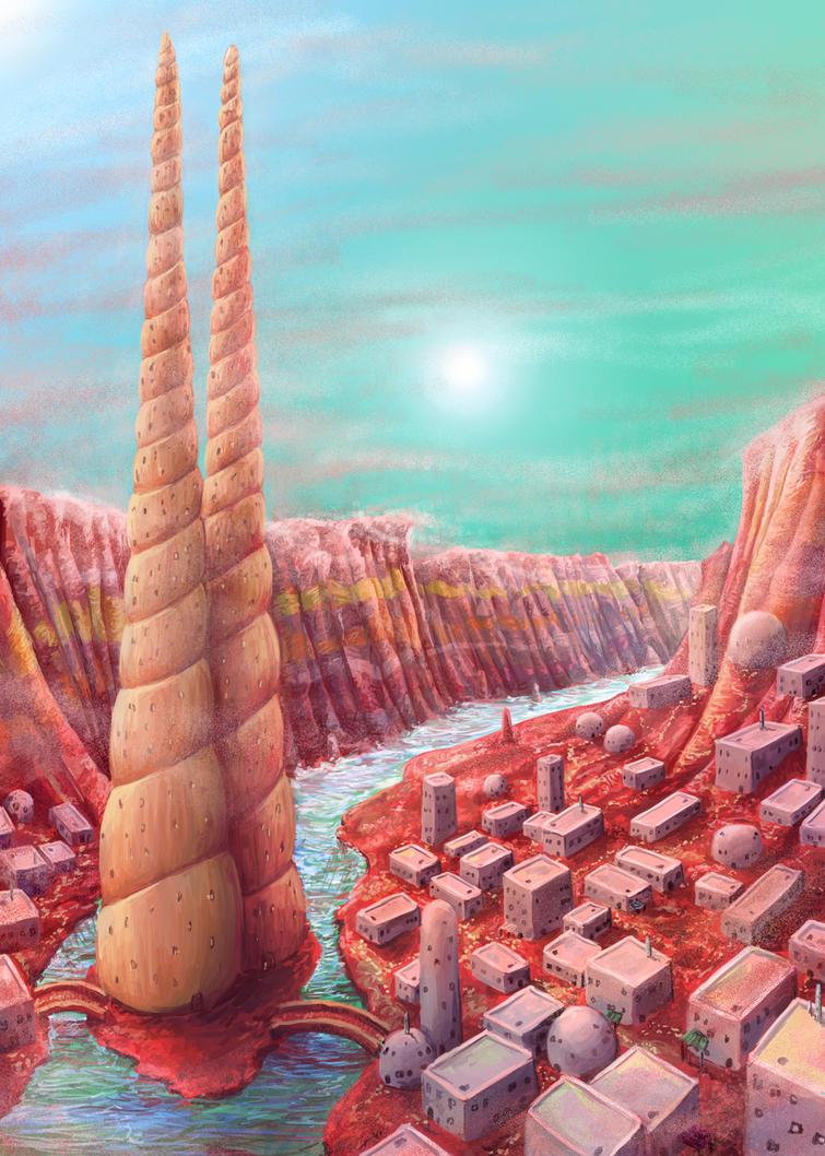 City of Ur-Uruk by Kampfkewob