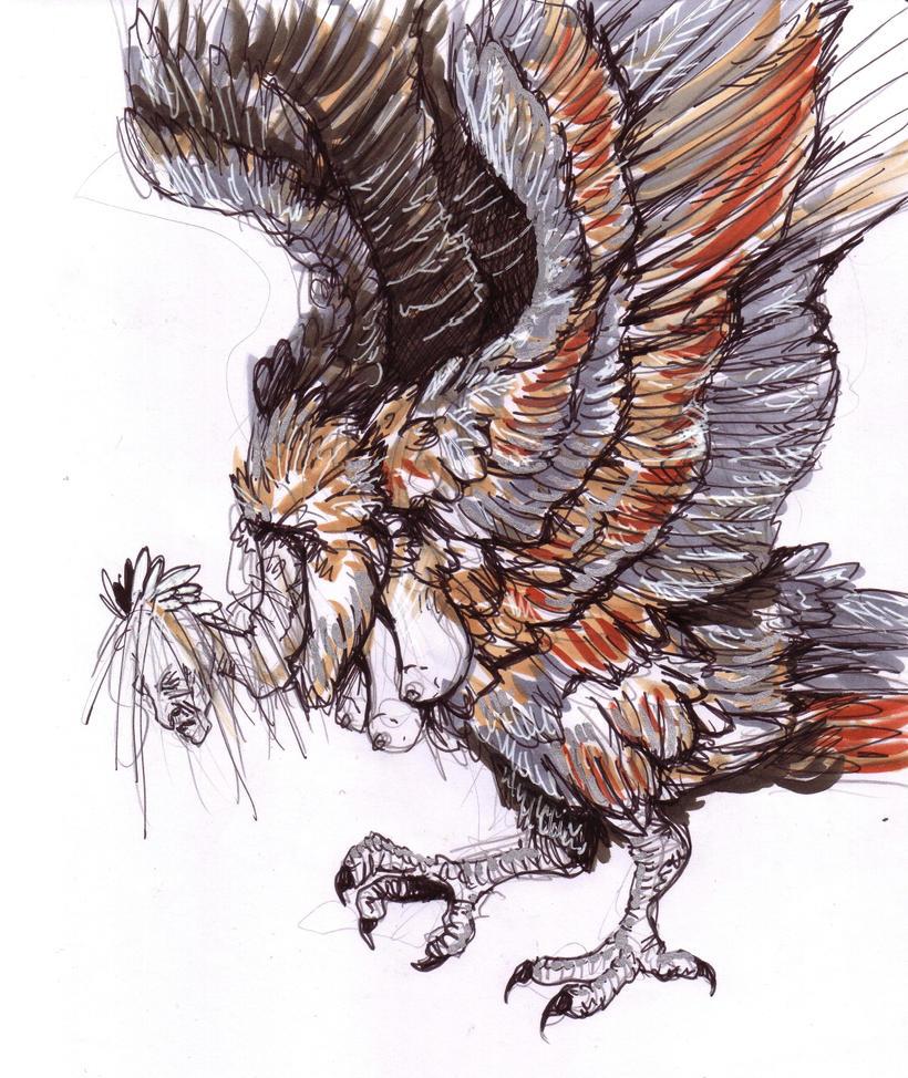Harpy by Kampfkewob