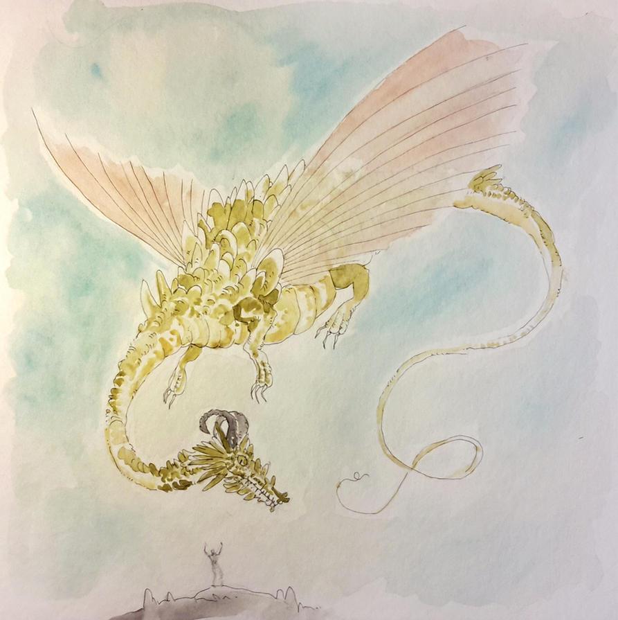 Dragon by Kampfkewob