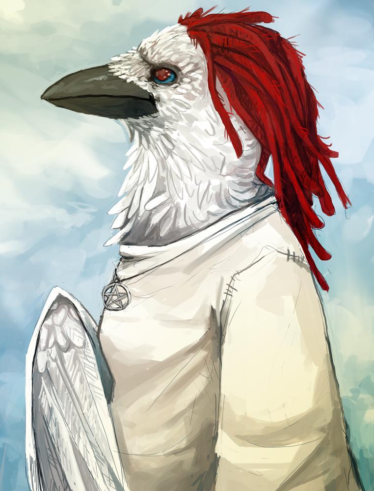 Raven Lady by Kampfkewob