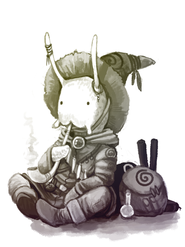 Snail Wizard by Kampfkewob