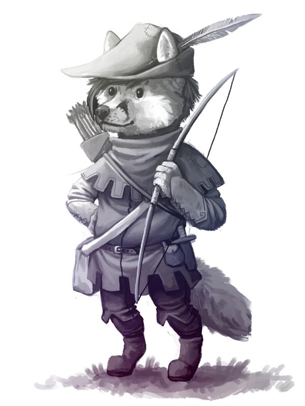 Robin Wolfhearts by Kampfkewob