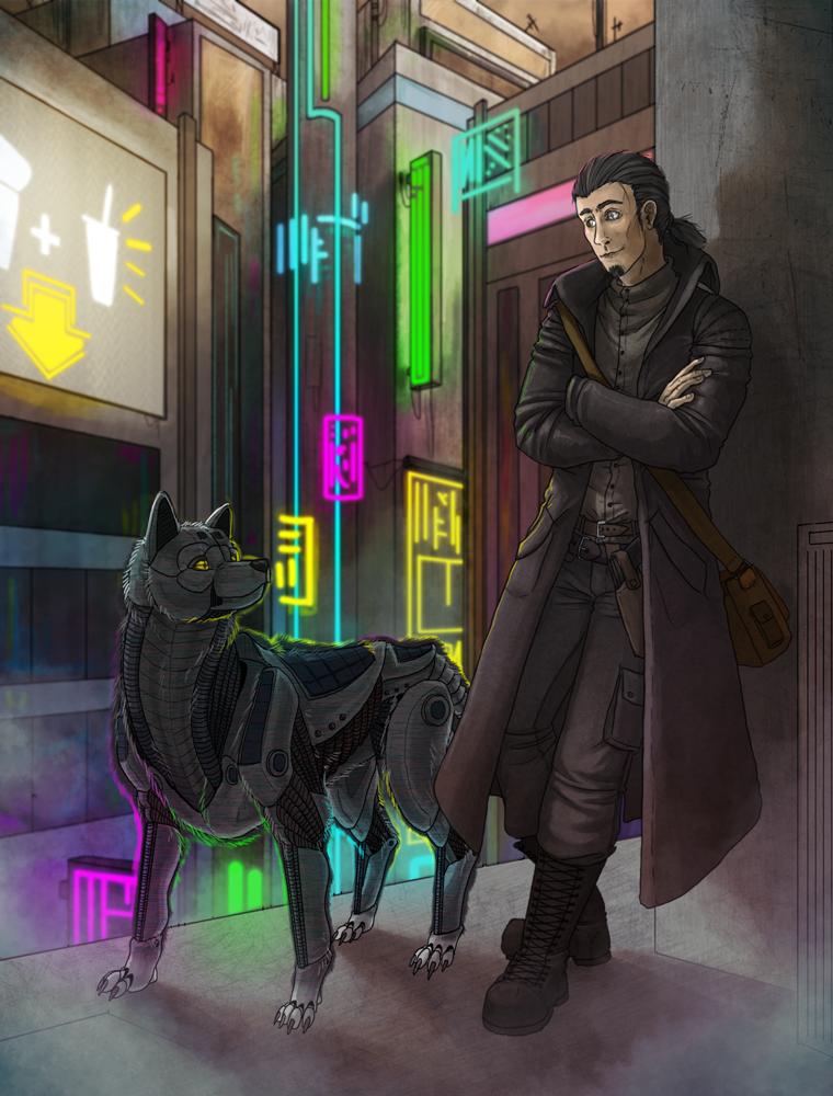 Shadowrun Commission by Kampfkewob