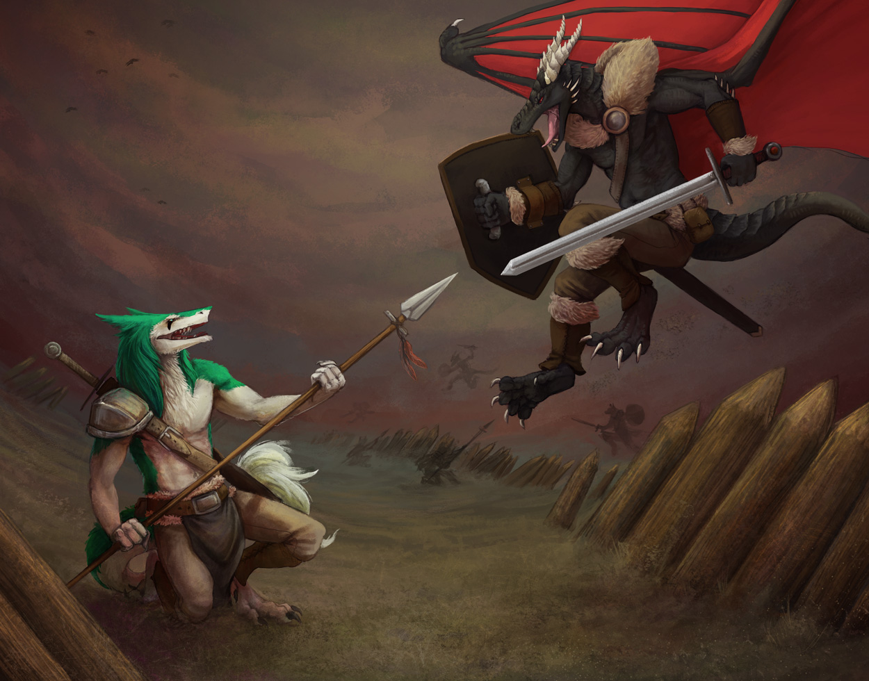 Into Battle! by Kampfkewob