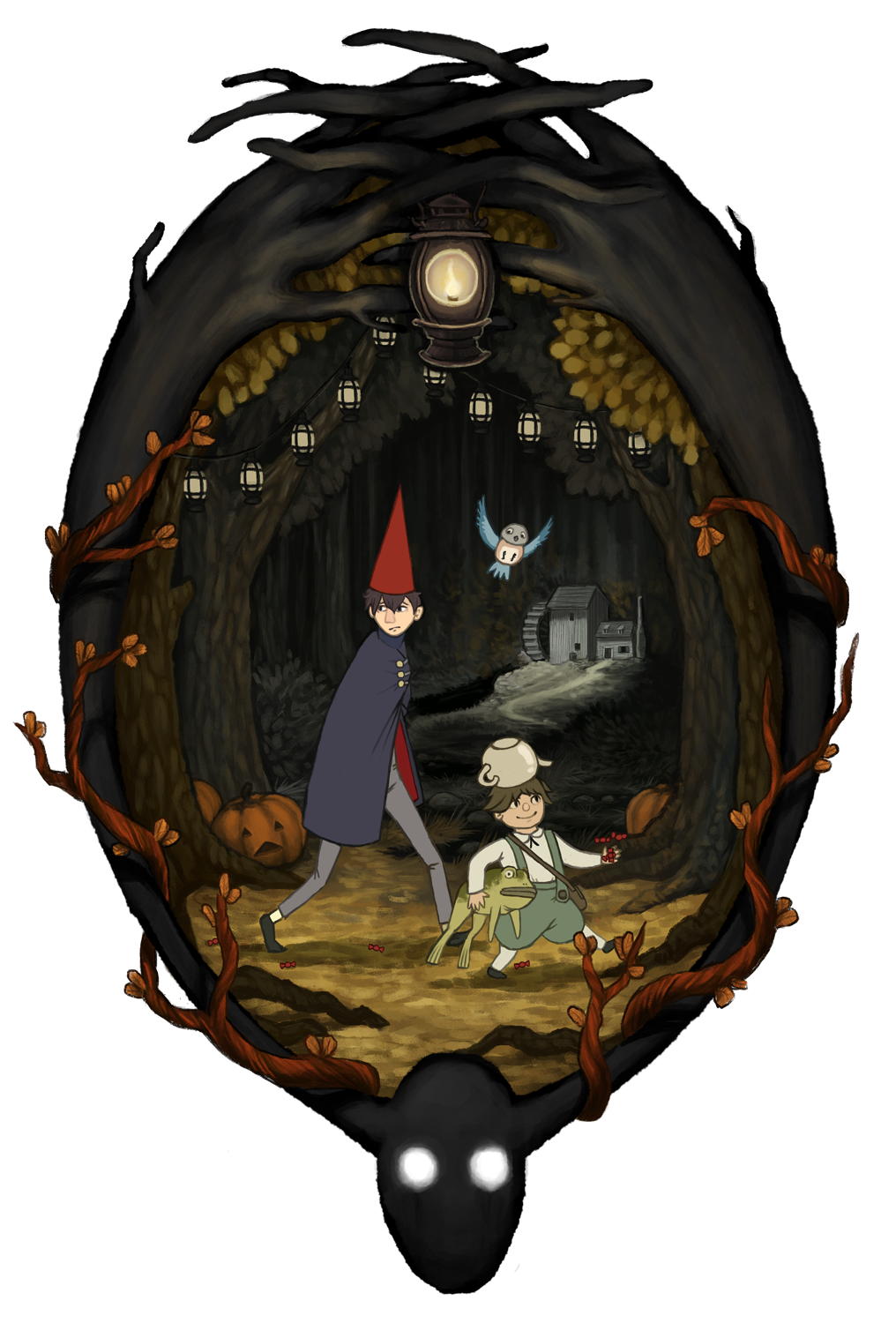 Over the Garden Wall by Kampfkewob