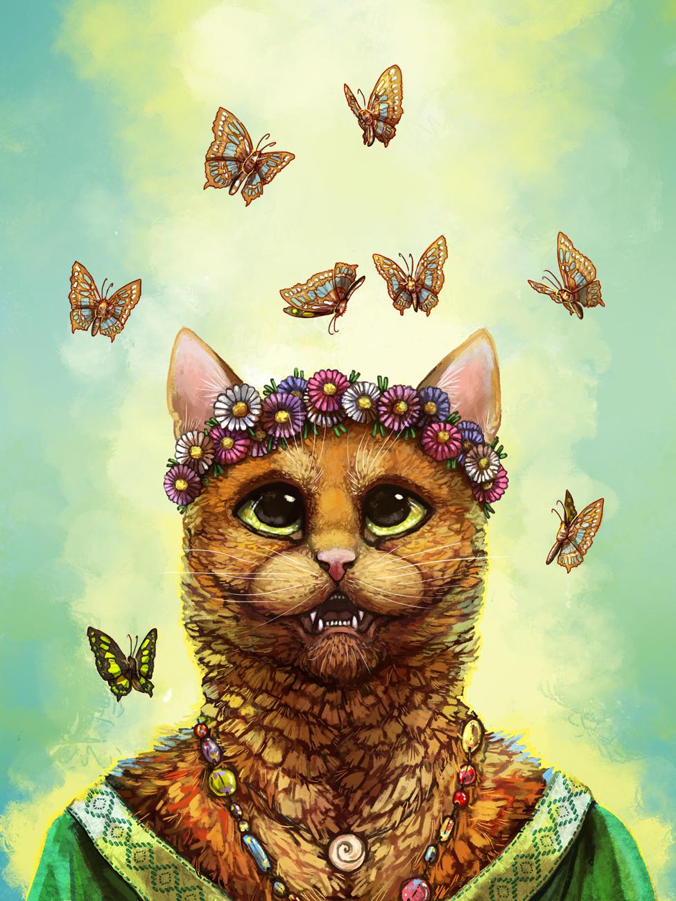 Cat by Kampfkewob