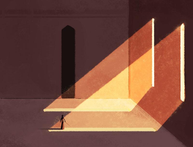 Beams of Light by Kampfkewob