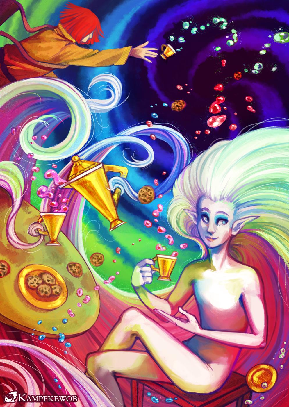 Tea Party by Kampfkewob