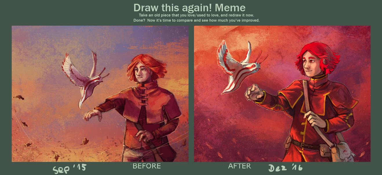 Herbst - Draw this again! Meme by Kampfkewob