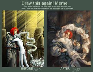 Returning Home - Draw This Again Meme