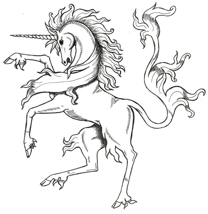 Medieval Unicorn by Tana-san on DeviantArt