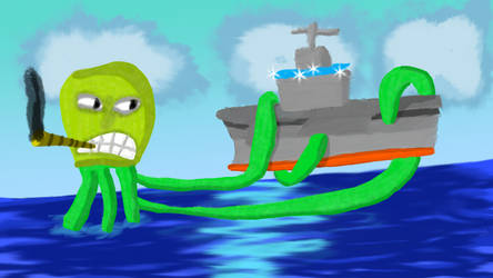 Overt Octopus takes on Carrier by GameInnovator