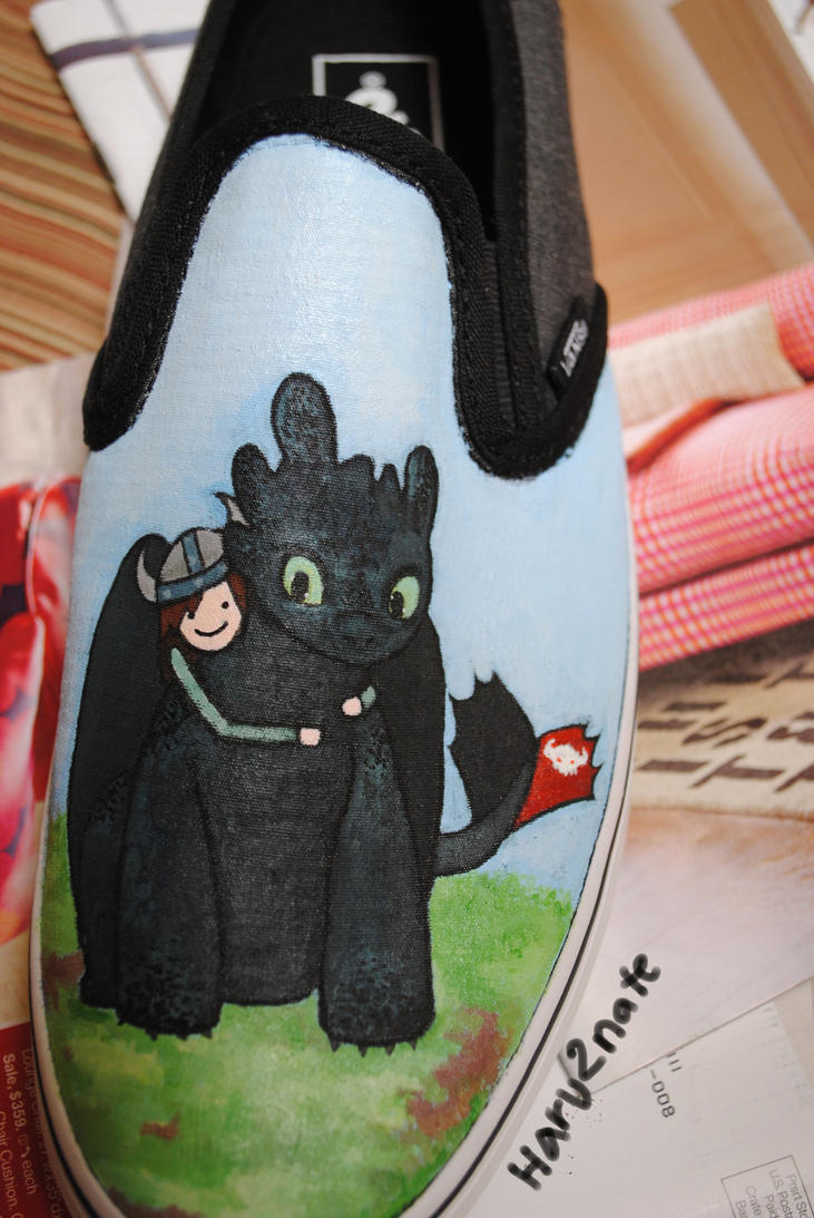HTTYD shoe 2 by haru2nate