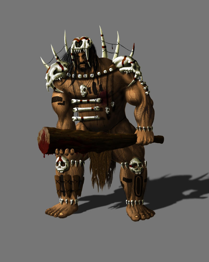 Caveman Concept Art : Caveman by nicknightshade on deviantart