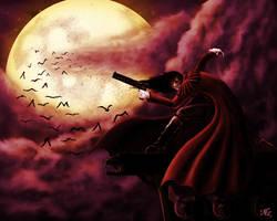 The Vampire Alucard by NickNightshade