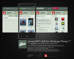 devART HUB for Windows Phone 7 by Crussong