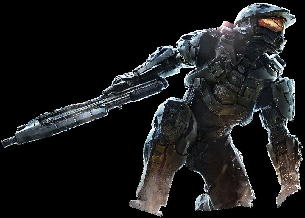 Halo 4 - Masterchief - Keyart RENDER by Crussong on DeviantArt
