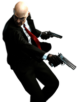 Hitman Absolution - Agent 47 Render HQ by Crussong