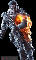 Battlefield 4 - Keyart-Character Render