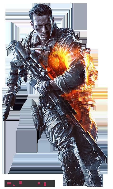 Battlefield 4 - Keyart-Character Render by Crussong