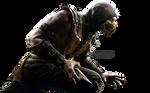 Mortal Kombat X  - Scorpion Render