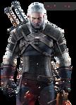 The Witcher 3: Wild Hunt - Geralt of Rivia Render