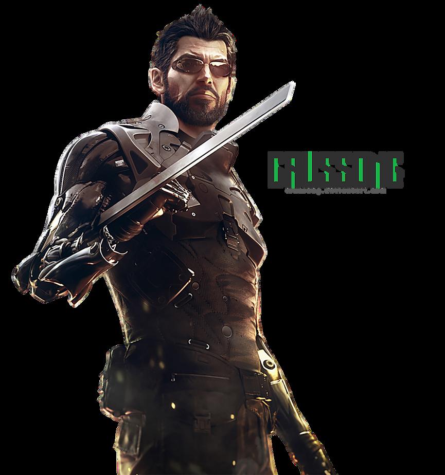 Deus Ex: Mankind Devided - Adam Jensen Render by Crussong