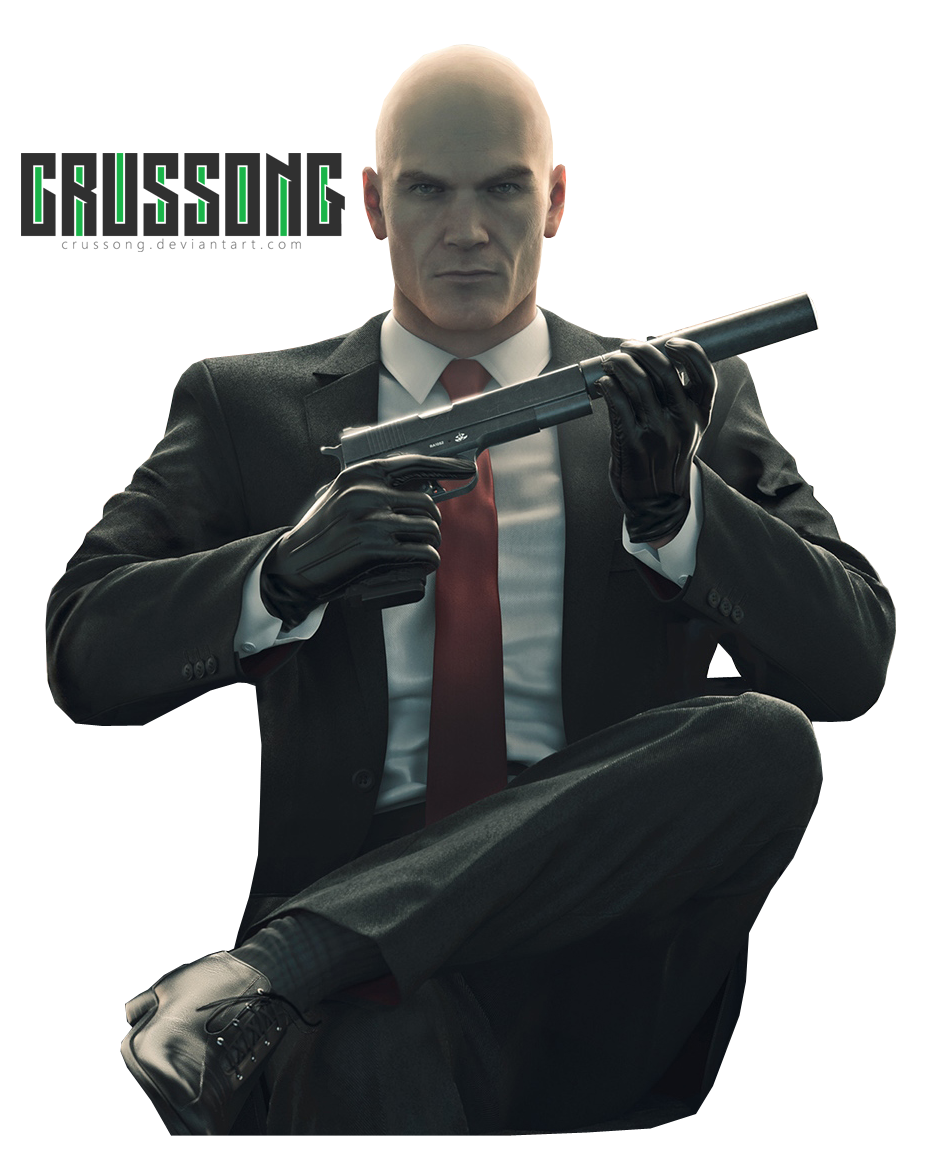 Hitman - Agent 47 Render by Crussong