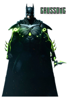 Injustice 2 - BATMAN render by Crussong