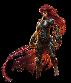Darksiders III - Fury Render by Crussong