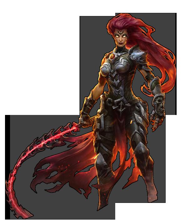 Darksiders III - Fury Render