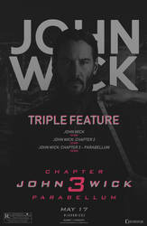 John Wick: TRIPLE FEATURE - Movieposter by Crussong