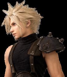 Final Fantasy VII Remake - Cloud Render by Crussong