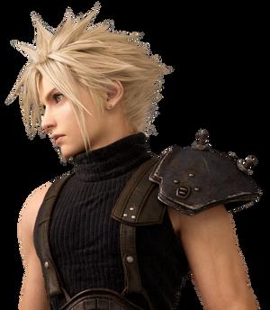Final Fantasy VII Remake - Cloud Render