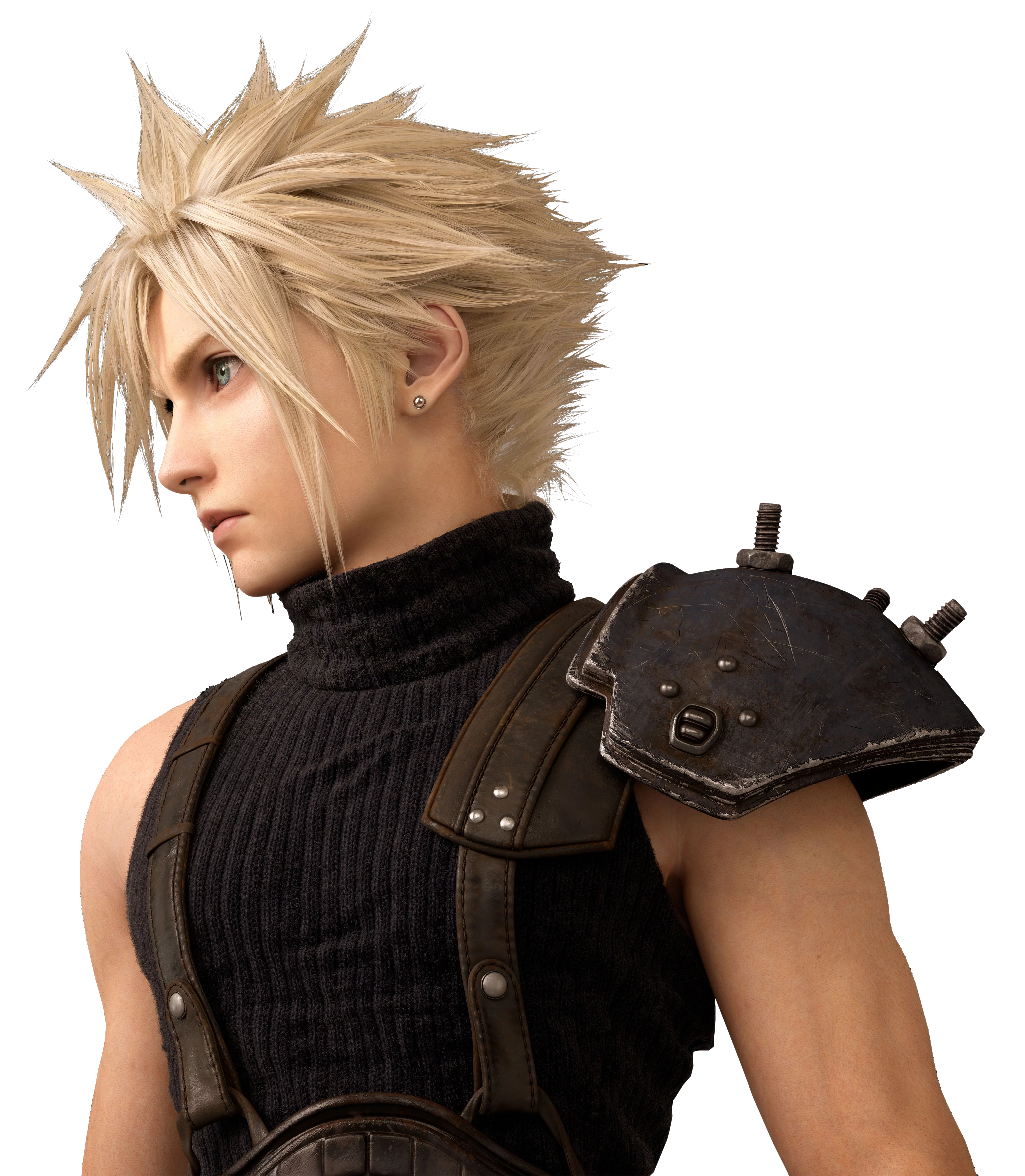 Final Fantasy Vii Remake Cloud Render By Crussong On