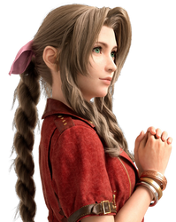 Final Fantasy VII Remake - Aerith Render by Crussong