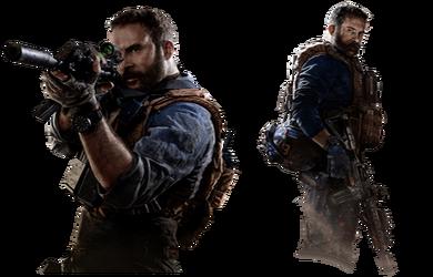 Call of Duty: Modern Warfare - Capt. Price Renders