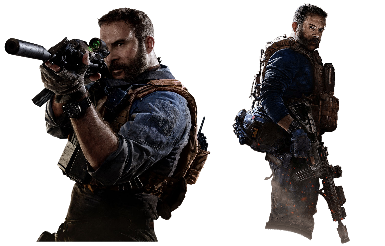 Call Of Duty Modern Warfare Capt Price Renders By Crussong On