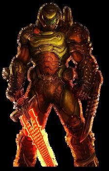 DOOM Eternal - Slayer Render