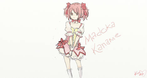 Magical Madoka (Requested) by kamidemicapu