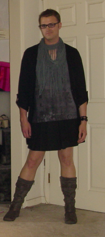 Boy in a skirt 4 by alyssacdgirl on DeviantArt