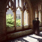Cloisters. Noon