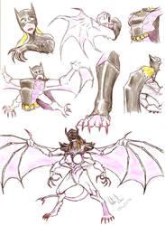 Batgirl TF Hive Tyrant by thanatos1988