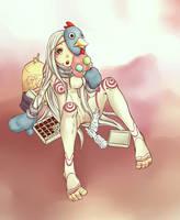 Shiro - Deadman Wonderland by Lucuni