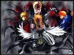 Naruto and Ichigo 2 Wallpaper