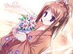 Flower Girl Anime 2 Wallpaper