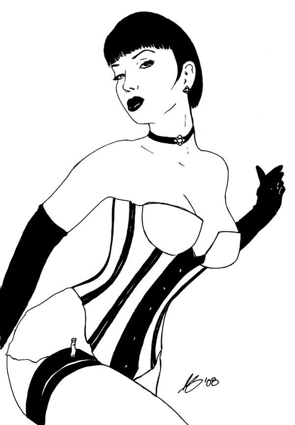 Cabaret Inks by r6artist