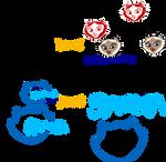 The SAGWA logos