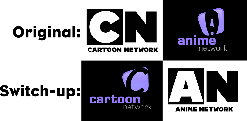 Logo Switch-up 1:Cartoon Network and Anime Network by ...