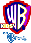 Kids WB on Warner Bros Family logo